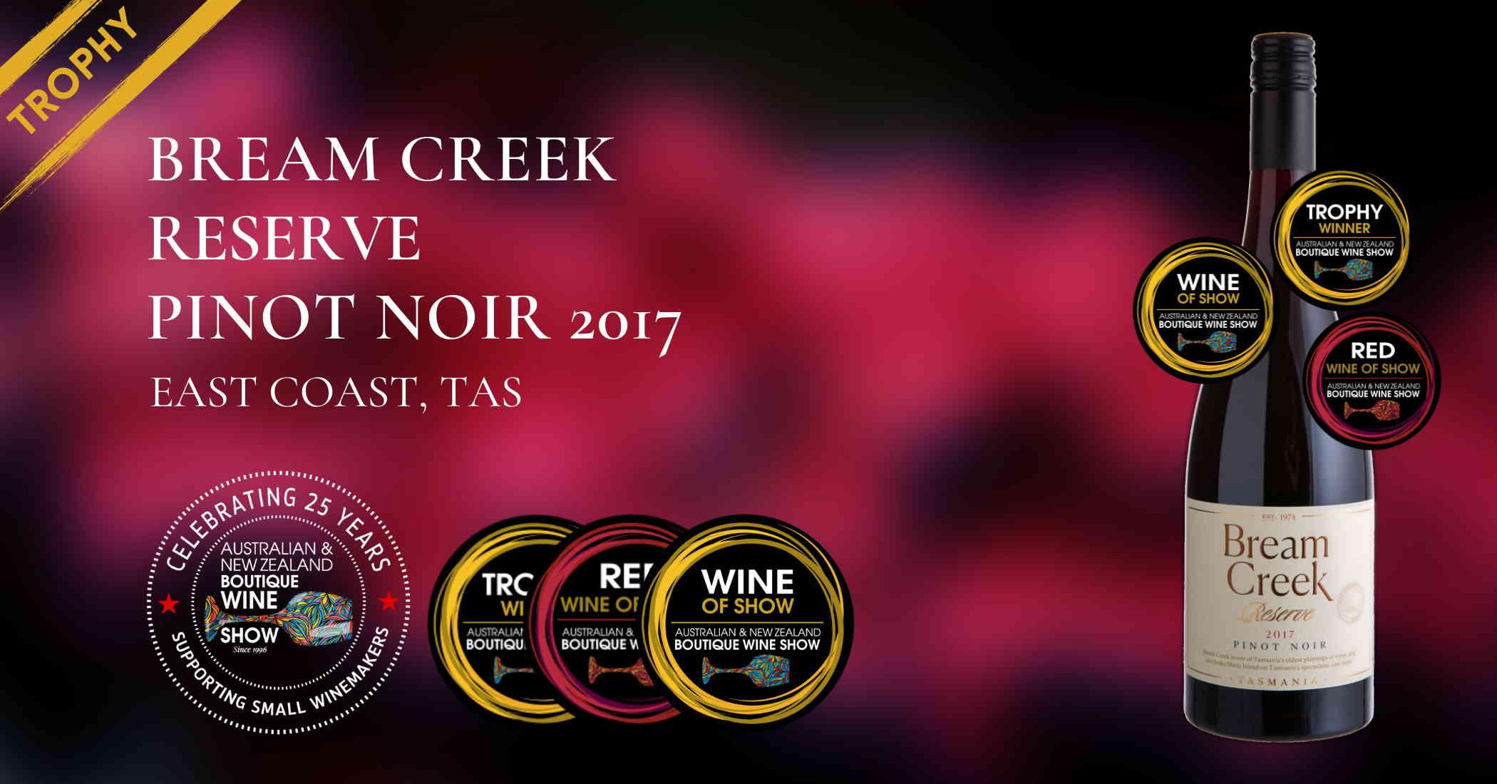 Bream Creek Reserve Pinot Noir 2017